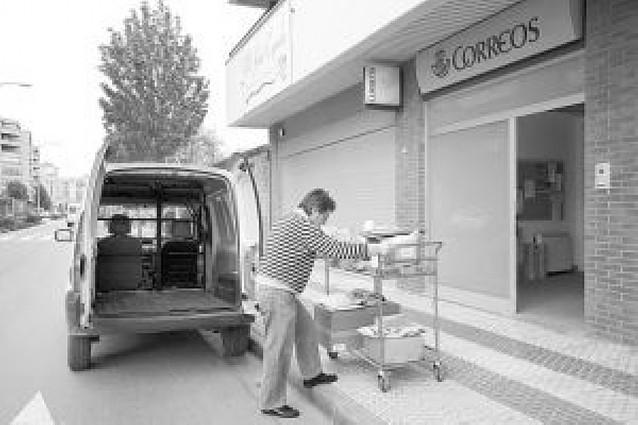 Carteros de Tudela denuncian que hay más de 25.000 envíos acumulados por falta de plantilla
