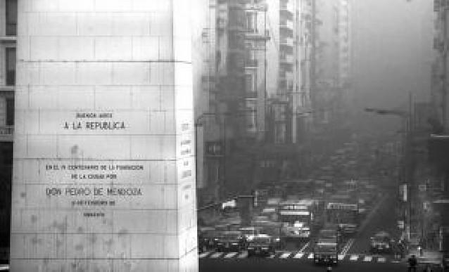 Una humareda procedente de la quema de campos ahoga Buenos Aires