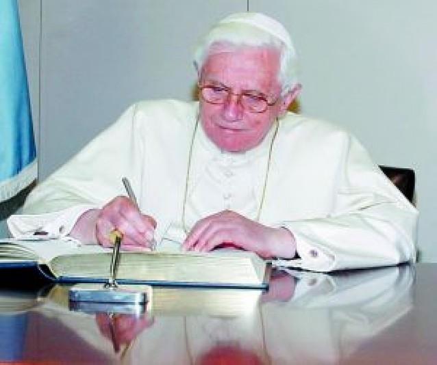 Benedicto XVI oficiará hoy misa en San Patricio