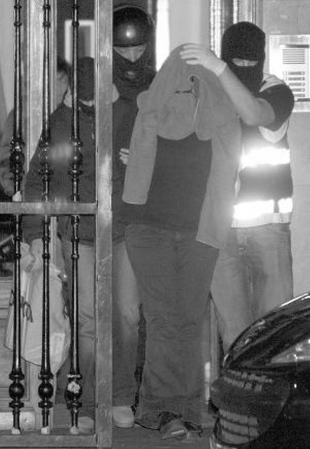Diez detenidos en Guipúzcoa por actos de terrorismo callejero