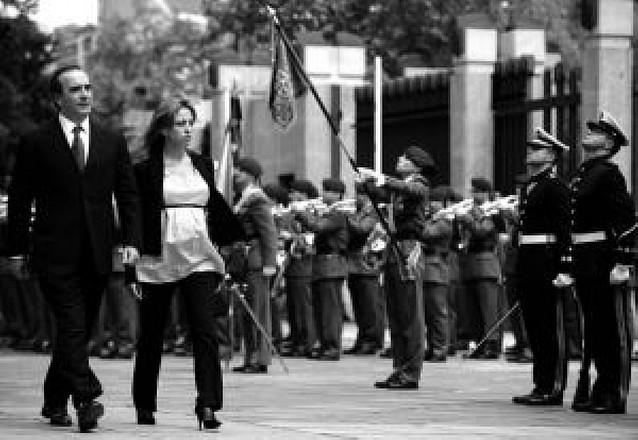 Carme Chacón visita hoy a los militares españoles en Afganistán