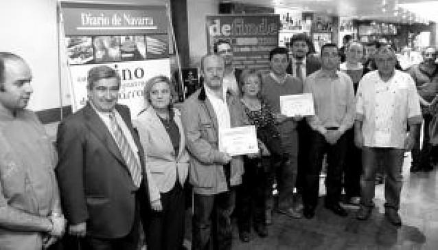 Chez Evaristo, el mejor pincho para los lectores de Diario de Navarra