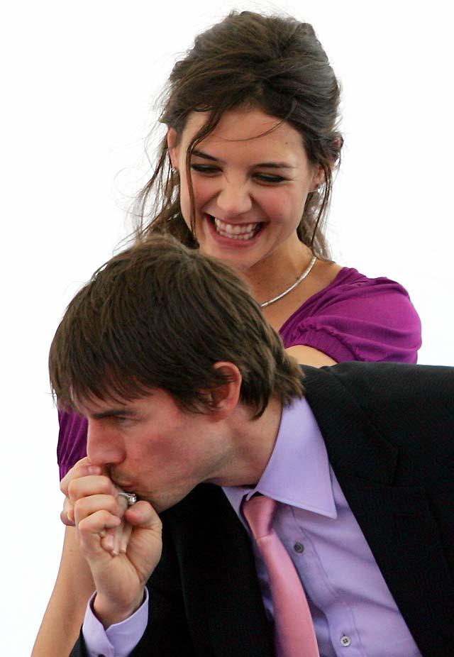 Tom Cruise y Katie Holmes salen al paso de los rumores sobre su separación