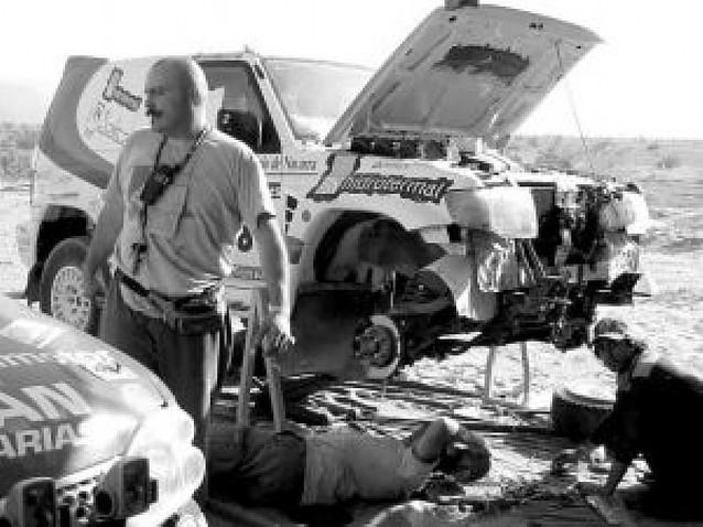 Pablo Rodríguez inicia el Dakar Series en Hungría