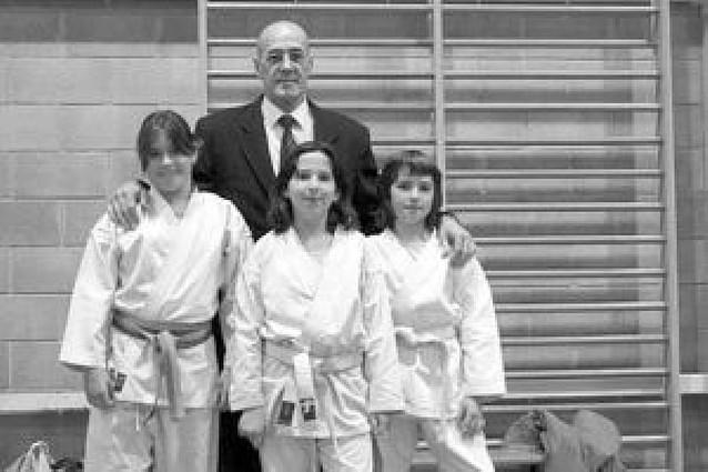 Primera experiencia de tres alumnas del club Shogun de Tudela