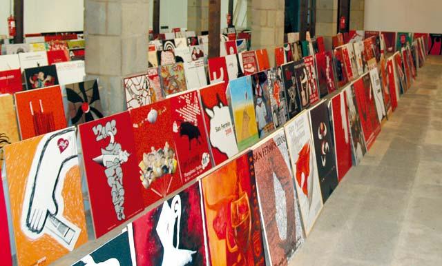 533 carteles de San Fermín listos para la final
