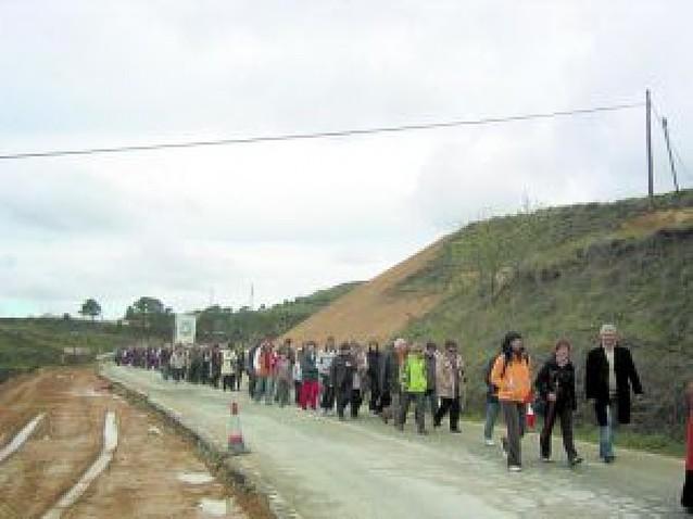 Cientos de peralteses en la primera romería a Ujué