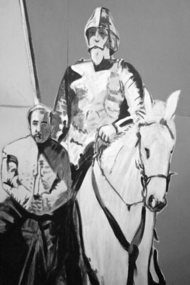 """Lectura de """"El Quijote"""" en Roma"""