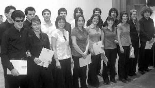 El concurso Fernando Remacha premia a 16 alumnos del Conservatorio