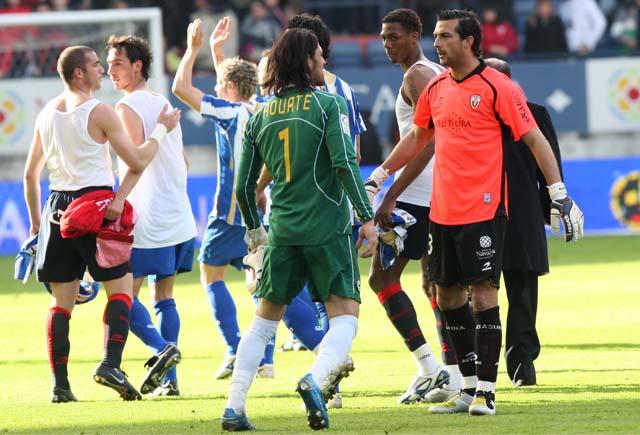 Cruchaga dice que sin errores arbitrales Osasuna estaría cerca de la UEFA