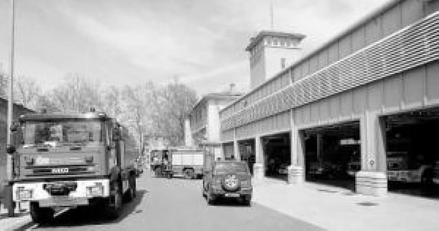 Pamplona tendrá parque de bomberos aunque se levante un museo en el actual