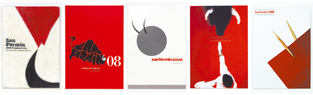 Los finalistas del cartel de San Fermín