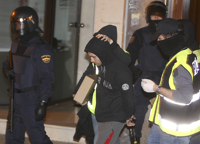 Dos detenidos en Rentería en una segunda fase de la operación contra la kale borroka en Guipúzcoa