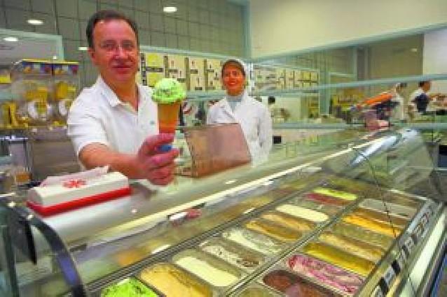El hostelero que apostó por el helado
