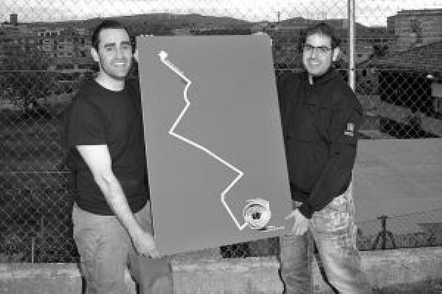 Javier Pérez y Javier Belloso, de Tafalla, ganan el concurso de carteles de fiestas de Tudela