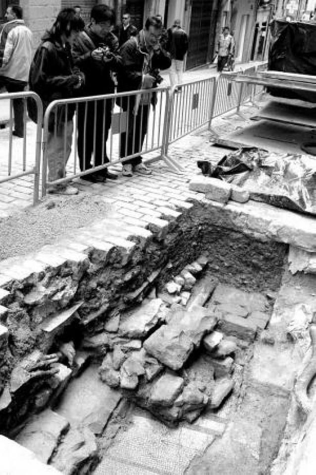 El Ayuntamiento reurbanizará la Navarrería condicionado por los restos que aparezcan