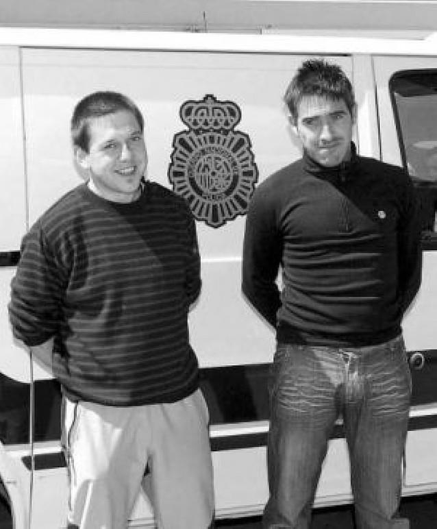 Prisión para los presuntos etarras San Sebastián e Iturbide