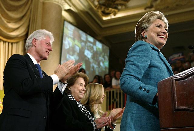 Hillary Clinton asegura su supervivencia política con una victoria en Pensilvania