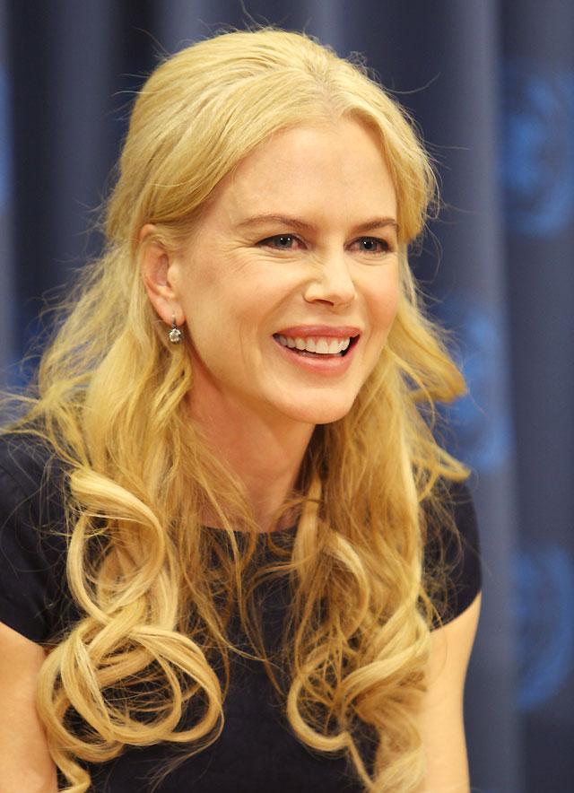 Nicole Kidman regresa a la ONU para combatir la violencia de género