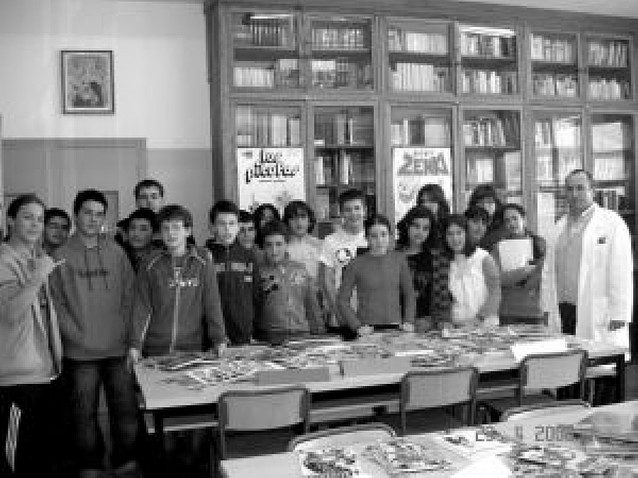 El colegio El Puy de Estella dedicó la jornada al cómic