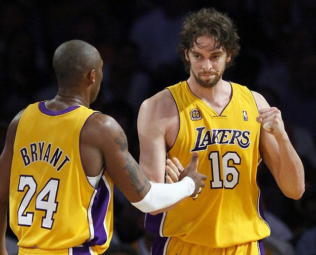 La magia de Kobe Bryant no da opción a los Nuggets