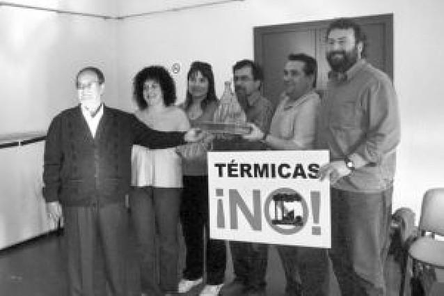 """Premio medioambiental para """"Más centrales no"""""""