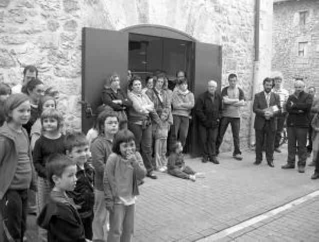 Inaugurada la biblioteca de Lekunberri tras una inversión de 116.206 euros
