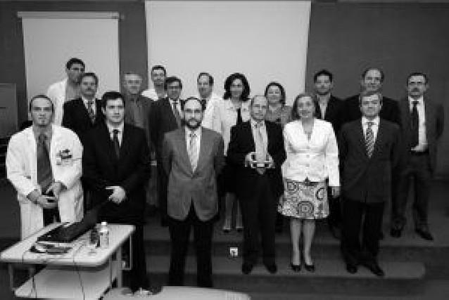 Homenaje al urólogo Alfredo Ipiens