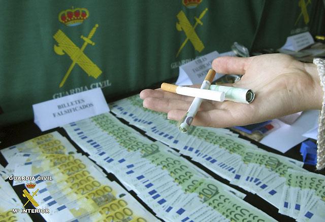 Desarticulada una red que introducía billetes de euro falsos en España con 23 detenidos