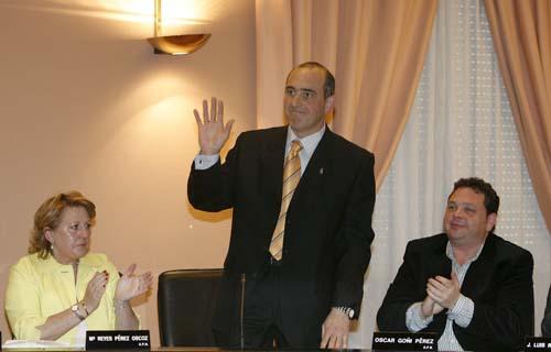 José Antonio Mendive (UPN) es elegido alcalde de Barañáin