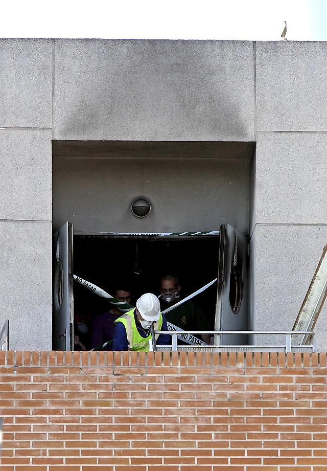 Una anciana fallece tras provocar un incendio en un geriátrico de Valencia y tirarse por la ventana