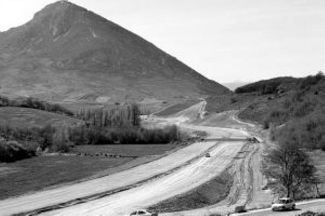 El tramo de la Autovía a Jaca entre Monreal e Idocin se abrirá al tráfico en junio