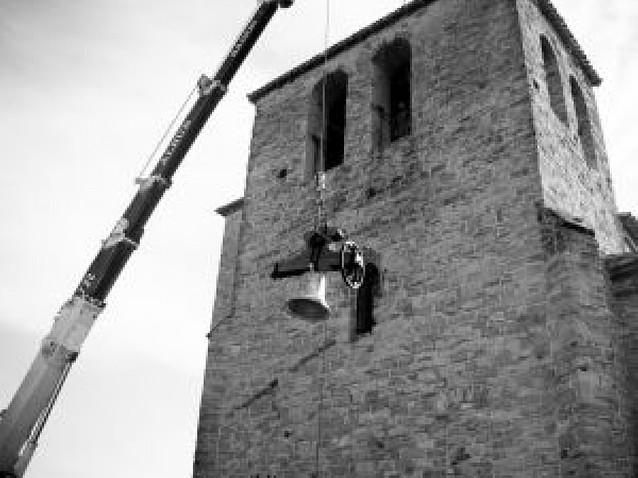 Zizur inaugura las cuatro campanas de San Andrés