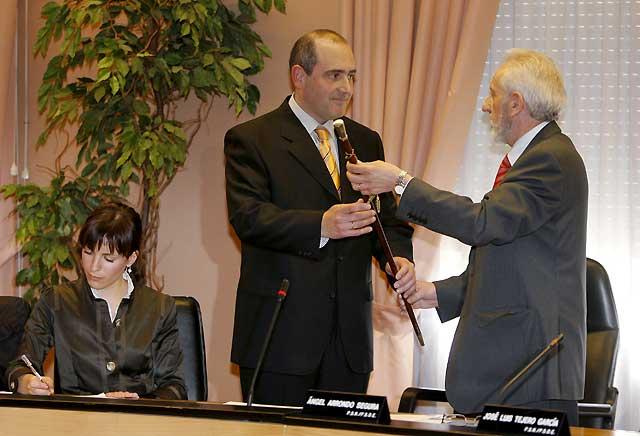 José Antonio Mendive (UPN), alcalde de Barañáin tras prosperar la moción con el PSN