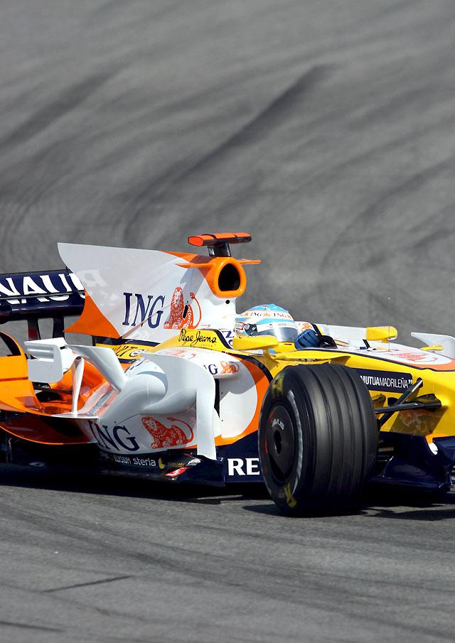 Alonso promete en Montmeló