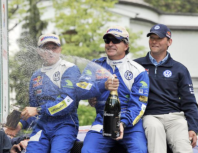 Carlos Sainz (Volkswagen) se proclama campeón del Rally Centroeuropeo y regresa a lo más alto