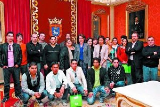 La Fundación Secretariado Gitano, en el ayuntamiento