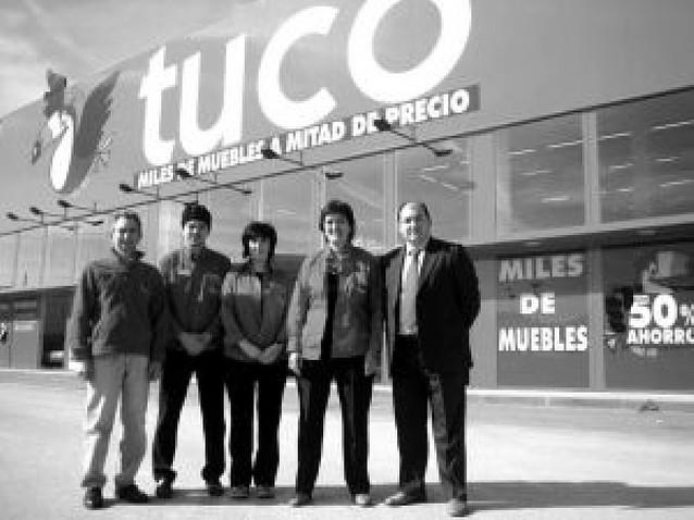 Tuco abre en Ayegui la segunda tienda de la marca en Navarra