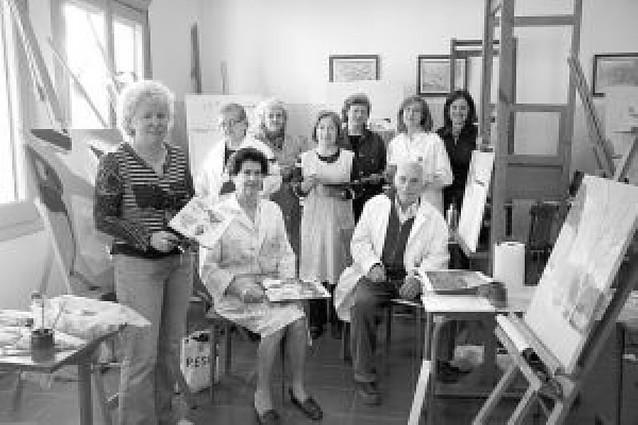 Exposición de alumnos de pintura