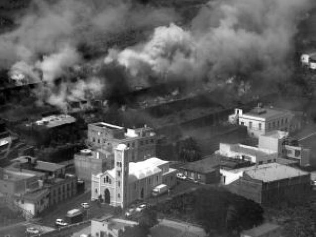Dos incendios al mismo tiempo en La Gomera