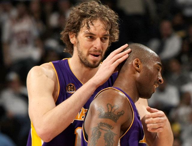 Bryant pone a Lakers a un triunfo de la semifinal