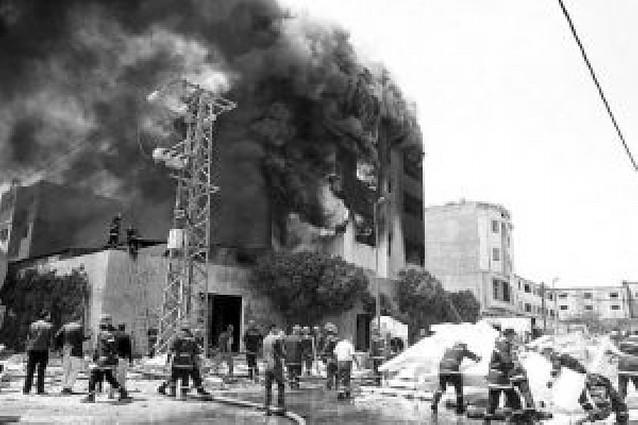 Detenido el dueño de la fábrica incendiada en Casablanca