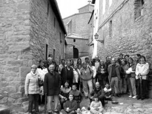 Visita a Gallipienzo con la asociación Baja Montaña