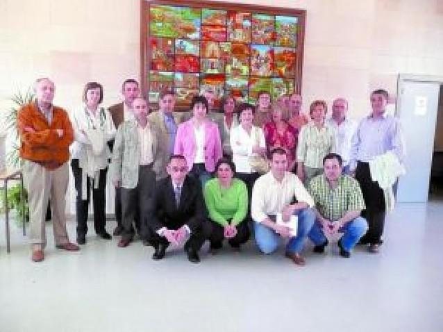 Quince insignias para los donantes de sangre de Mendavia