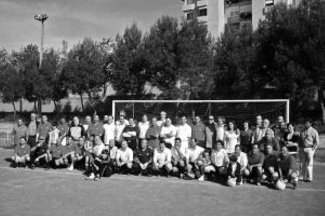 El fútbol homenajea a Galindo