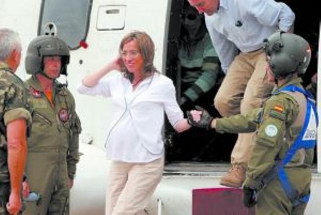 Los militares españoles en el Líbano piden a Chacón nuevos carros blindados