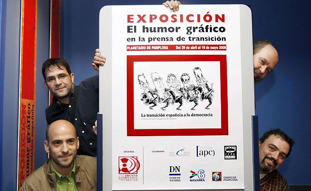 El Planetario recoge las mejores tiras cómicas de la transición española