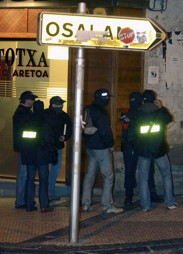 Registradas tres explosiones en Arrigorriaga y San Sebastián sin causar víctimas