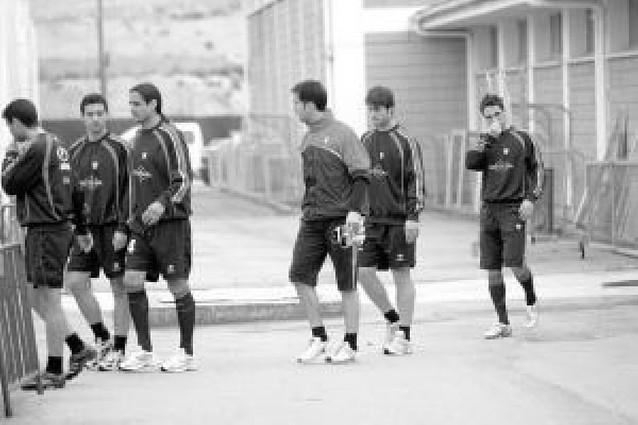 El equipo regresa en sesión matinal