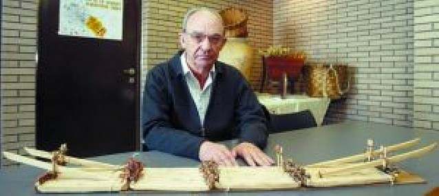 Félix Sanz, nuevo presidente de la asociación de almadieros